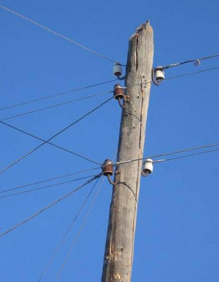 деревянный столб для электричества Поляна Сочи рейтингом