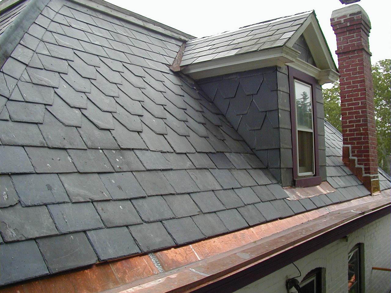 Как сделать крышу из камня